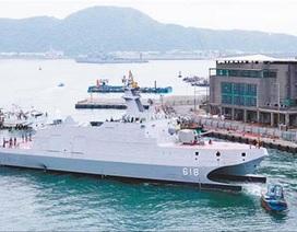Đài Loan xây dựng đội tàu chiến mạnh đối phó với Trung Quốc