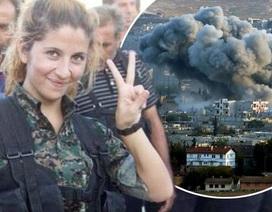 Nữ chiến binh xinh đẹp đi đầu trong cuộc chiến chống IS
