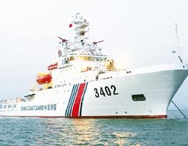 Trung Quốc lại đưa tàu Hải Cảnh 4.000 tấn vào hoạt động trên Biển Đông