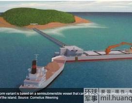 Trung Quốc định đóng ụ tàu nổi nhằm xây đảo nhân tạo phi pháp ở Trường Sa