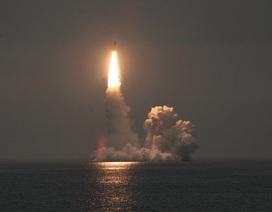 Hải quân Nga diễn tập thành công với tên lửa liên lục địa mới