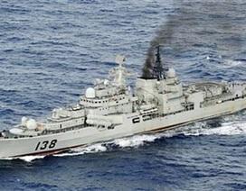 Trung Quốc có thể triển khai tàu chiến giám sát tập trận Mỹ-Nhật