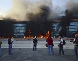 Mexico: Hàng trăm sinh viên gây náo loạn tại bang Guerrero