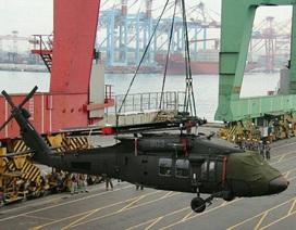 Đài Loan tiếp nhận lô trực thăng Black Hawk đầu tiên từ Mỹ