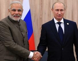"""Tổng thống Putin tới Ấn Độ ký một loạt hợp đồng """"khủng"""""""