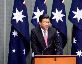 Chủ tịch Trung Quốc cam kết giải quyết hòa bình các tranh chấp biển