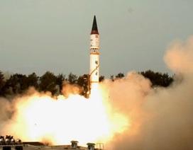 Ấn Độ thử thành công tên lửa có thể mang đầu đạn hạt nhân