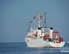 Trung Quốc đưa tàu khảo sát khoa học tới biển Ấn Độ Dương