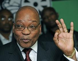 Tổng thống Nam Phi úp mở chuyện lấy vợ thứ 5