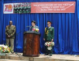 Kỷ niệm 70 năm thành lập Quân đội Nhân dân Việt Nam tại Nam Phi