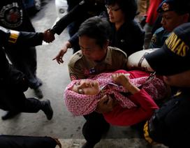 Truyền hình Indonesia bị chỉ trích vì phát hình ảnh thi thể từ hiện trường
