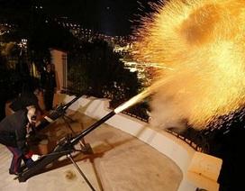 Monaco bắn 42 phát đại bác chào mừng Công nương sinh đôi