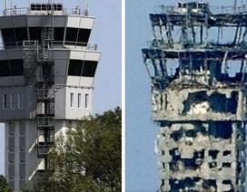 Sân bay chiến lược tại Donetsk bị tàn phá sau chiến sự ác liệt