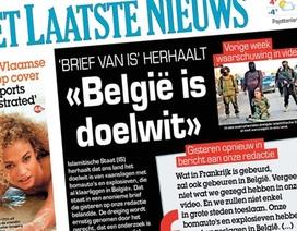 Một tòa báo Bỉ bị đe dọa đánh bom