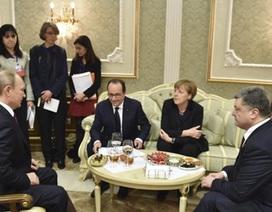 Tổng thống Ukraine nói không chấp nhận các điều kiện của Nga