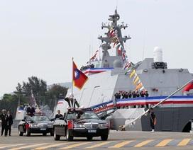 Đài Loan biên chế chiến hạm tàng hình, quyết tâm chế tạo tàu ngầm