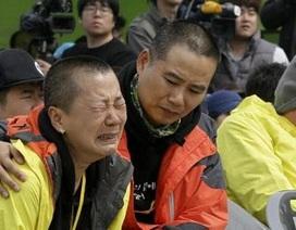 Hàn Quốc tưởng niệm một năm vụ đắm phà Sewol: Nước mắt vẫn không ngừng rơi