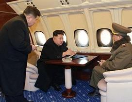 Triều Tiên khoe nội thất sang trọng trên chuyên cơ của ông Kim Jong-un