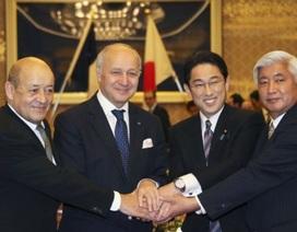 Nhật ký thỏa thuận quốc phòng với Pháp để mở rộng vai trò quân sự