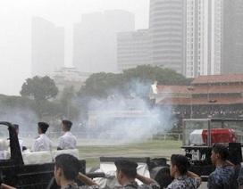 Singapore bắn 21 phát đại bác vĩnh biệt Lý Quang Diệu