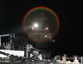 Trực thăng Hàn Quốc rơi xuống biển, 1 người chết, 3 người mất tích