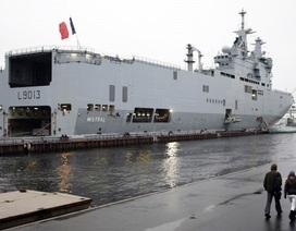 Pháp từ chối trả lời về khả năng bán tàu Mistral cho Trung Quốc