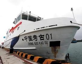 Trung Quốc đưa tàu khảo cổ trái phép tới Hoàng Sa
