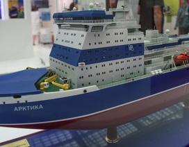 Nga hạ thủy tàu phá băng thế hệ mới chạy bằng năng lượng hạt nhân
