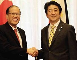 """Tổng thống Philippines thăm Nhật Bản giữa lúc Biển Đông """"dậy sóng"""""""