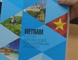 Úc phát hành sách giới thiệu 40 trường đại học tại Việt Nam
