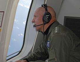 Chỉ huy Hạm đội Thái Bình Dương Mỹ tham gia bay tuần tra trên Biển Đông