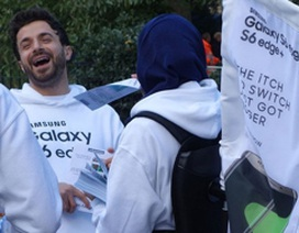 """Samsung """"phá bĩnh"""" trong sự kiện ra mắt iPhone 6s tại London"""