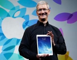 """Doanh số iPad tiếp tục giảm mạnh, Apple hết """"bài""""?"""