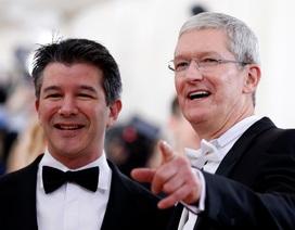 """Apple toan tính gì khi """"rót"""" 1 tỷ USD vào đối thủ cạnh tranh của Uber tại Trung Quốc?"""