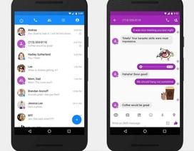 Người dùng Android đã có thể nhắn tin SMS bằng Facebook Messenger