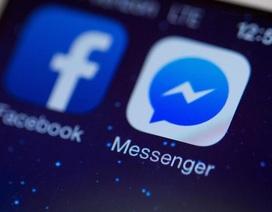 Facebook Messenger chính thức cán mốc 1 tỷ người dùng