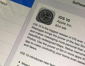 """Cảnh giác: iPhone có thể biến thành """"cục gạch"""" khi nâng cấp và cài đặt lên iOS 10"""