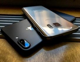 So sánh ảnh chụp thực tế của iPhone 7 Plus và Samsung Galaxy S7