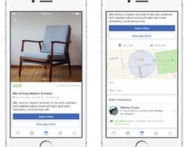 """Facebook ra mắt tính năng """"chợ điện tử"""" cho phép người dùng mua bán, trao đổi hàng hóa"""