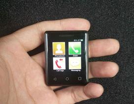 Trung Quốc ra mắt smartphone có màn hình cảm ứng nhỏ nhất thế giới