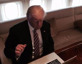 Tân Tổng thống Mỹ Donald Trump không hề biết sử dụng máy tính