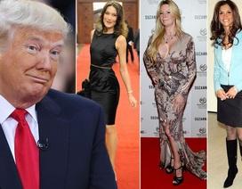 Những kiều nữ xinh đẹp và gợi cảm từng gắn bó với tân Tổng thống Donald Trump