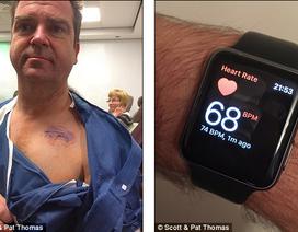 Đồng hồ thông minh cứu mạng một giảng viên 51 tuổi