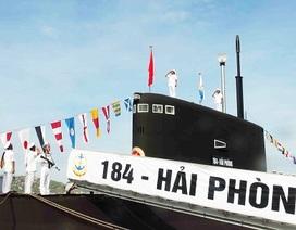 Lễ thượng cờ trên 2 tàu ngầm Hải Phòng và Khánh Hòa