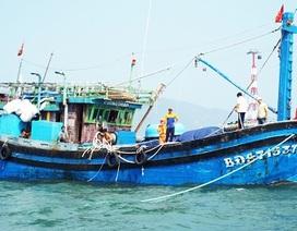 Đưa 12 ngư dân bị trôi dạt về đất liền an toàn