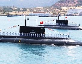 """Tàu ngầm Kilo thứ 5 - Đà Nẵng """"rục rịch"""" về quân cảng Cam Ranh"""