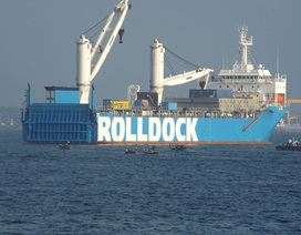Tàu ngầm Kilo Đà Nẵng đã về đến quân cảng Cam Ranh