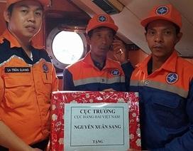 Cứu 2 ngư dân bị chìm tàu ngoài khơi Nha Trang ngày cuối năm