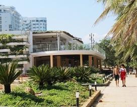 """Băn khoăn về một công trình mới """"mọc"""" gần biển Nha Trang"""