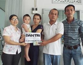 Hơn 85 triệu đồng đến với bé trai ở Nha Trang bị tim bẩm sinh